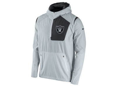Oakland Raiders Nike NFL Men's Vapor Speed Fly Rush Pullover Jacket