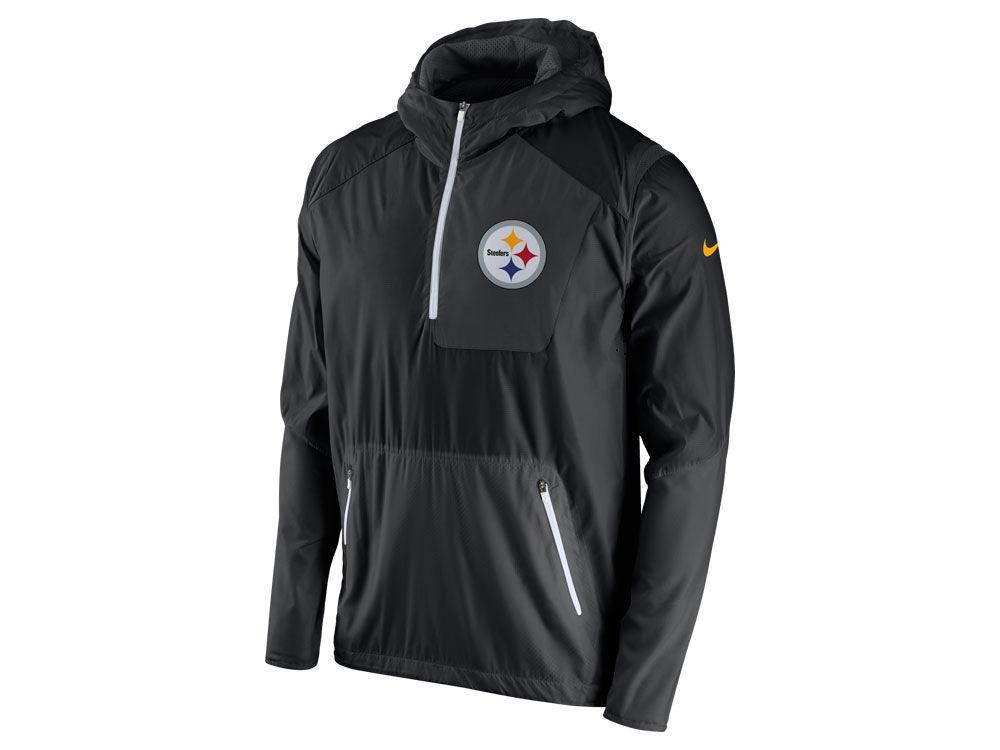 67312efa5 Pittsburgh Steelers Nike NFL Men s Vapor Speed Fly Rush Pullover Jacket