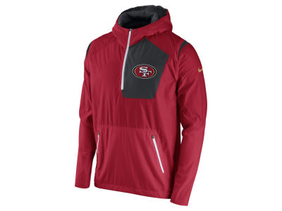 San Francisco 49ers Nike NFL Men's Vapor Speed Fly Rush Pullover Jacket