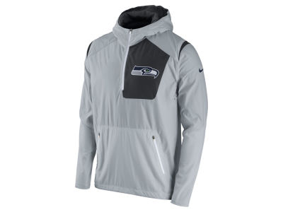 Seattle Seahawks Nike NFL Men's Vapor Speed Fly Rush Pullover Jacket