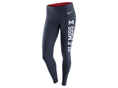 Ole Miss Rebels Nike NCAA Women's Tailgate Leg-A-See Leggings