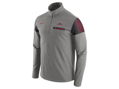 Ohio State Buckeyes Nike NCAA Men's Elite Coaches Half Zip Pullover