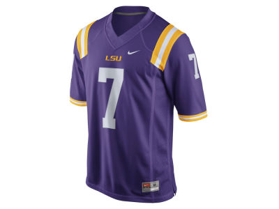 LSU Tigers #7 Nike NCAA Men's Limited Football Jersey