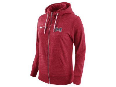 Ole Miss Rebels Nike NCAA Women's Tailgate Gym Vintage Full Zip Hoodie