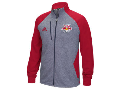 New York Red Bulls adidas MLS Men's Fleece Track Jacket
