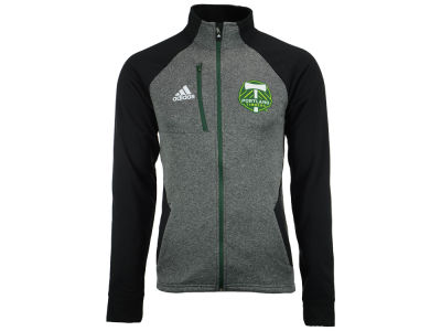 Portland Timbers adidas MLS Men's Fleece Track Jacket