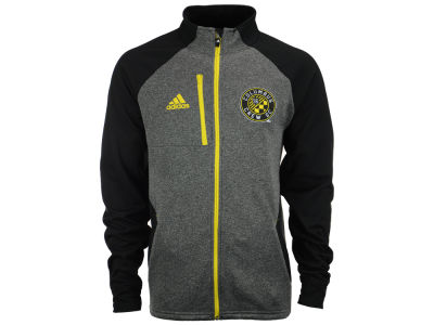 Columbus Crew SC adidas MLS Men's Fleece Track Jacket