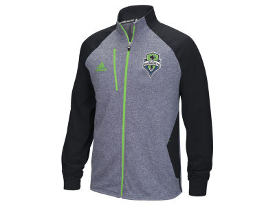 Seattle Sounders FC adidas MLS Men's Fleece Track Jacket