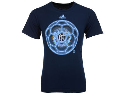 New York City FC adidas MLS Men's Orb Ball T-Shirt