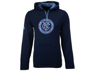 New York City FC adidas MLS Men's Stealth Pullover Hoodie