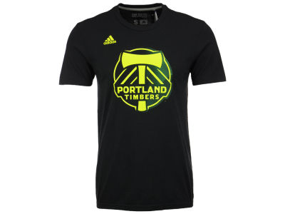 Portland Timbers adidas MLS Men's Stealth Crest T-Shirt