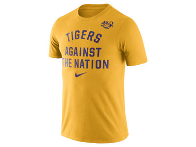 LSU Tigers Nike NCAA Men's Cotton Rally T-Shirt