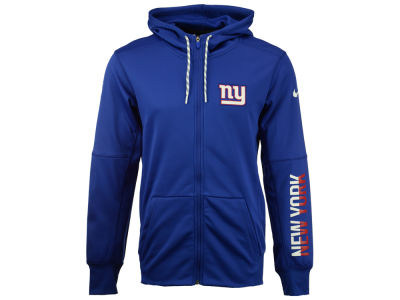 New York Giants Nike NFL Men's Circuit Full Zip Hoodie