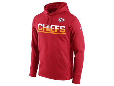Kansas City Chiefs Nike NFL Men's Circuit Pullover Hoodie