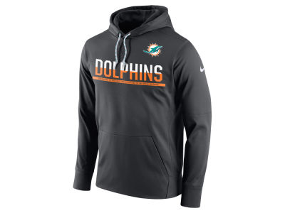 Miami Dolphins Nike NFL Men's Circuit Pullover Hoodie