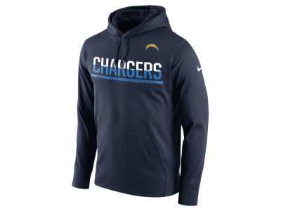 San Diego Chargers Nike NFL Men's Circuit Pullover Hoodie