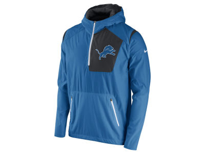 Detroit Lions Nike NFL Men's Vapor Speed Fly Rush Pullover Jacket