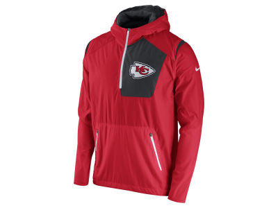 Kansas City Chiefs Nike NFL Men's Vapor Speed Fly Rush Pullover Jacket