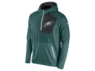Philadelphia Eagles Nike NFL Men's Vapor Speed Fly Rush Pullover Jacket