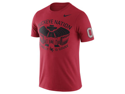 Ohio State Buckeyes Nike NCAA Men's Campus Elements T-Shirt