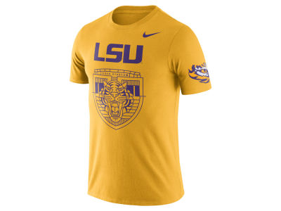 LSU Tigers Nike NCAA Men's Campus Elements T-Shirt