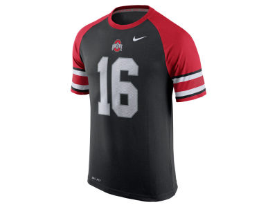 Ohio State Buckeyes Nike NCAA Men's Dri-Fit Cotton New Day Number T-Shirt