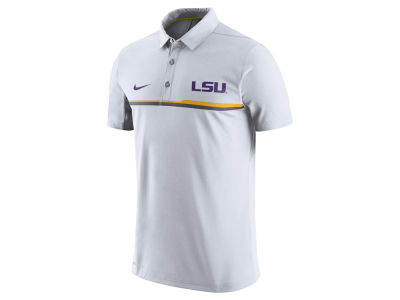 LSU Tigers Nike NCAA Men's Elite Coaches Polo Shirt
