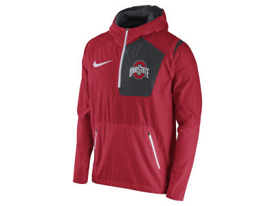 Ohio State Buckeyes Nike NCAA Men's Speed Fly Rush Pullover Hoodie Jacket