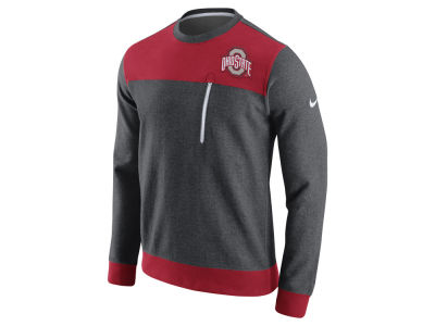 Ohio State Buckeyes Nike NCAA Men's AV15 Fleece Crew Sweatshirt