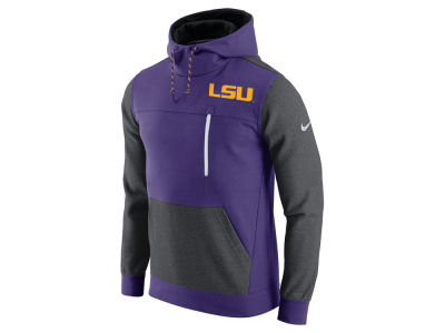 LSU Tigers Nike NCAA Men's AV15 Fleece Pullover Hoodie