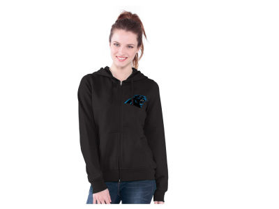 Carolina Panthers GIII NFL Women's Full Zip Draft Hoodie