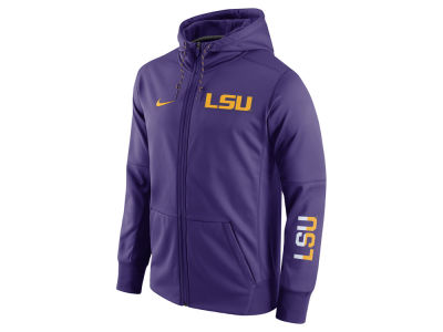 LSU Tigers Nike NCAA Men's Circuit Full Zip Hoodie