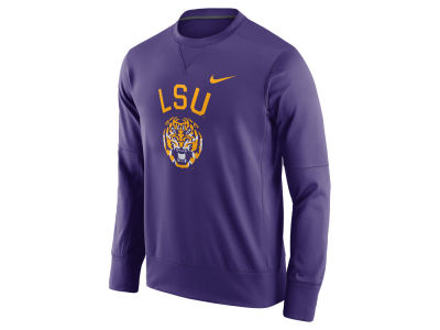 LSU Tigers Nike NCAA Men's Circuit Crew Sweatshirt