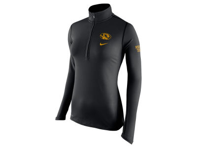 Missouri Tigers Nike NCAA Womens Tailgate Element Half Zip Shirt