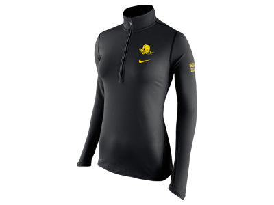 Oregon Ducks Nike NCAA Womens Tailgate Element Half Zip Shirt