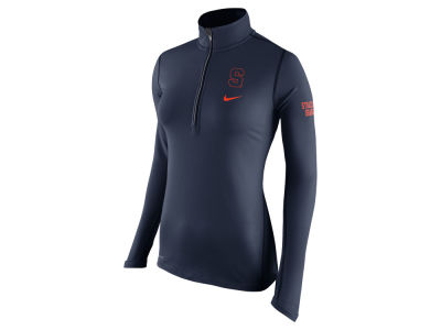 Syracuse Orange Nike NCAA Womens Tailgate Element Half Zip Shirt