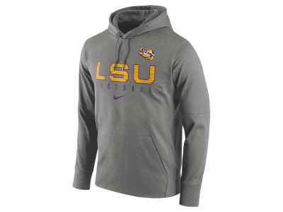 LSU Tigers Nike NCAA Men's Circuit Performance Hoodie
