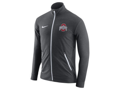 Ohio State Buckeyes Nike NCAA Men's Elite Players DriFit Touch Full Zip Jacket