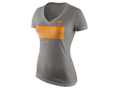 Tennessee Volunteers Nike NCAA Women's Dri Blend Tailgate V-Neck T-Shirt
