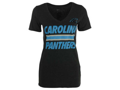 Carolina Panthers Nike NFL Women's Team Stripe T-Shirt