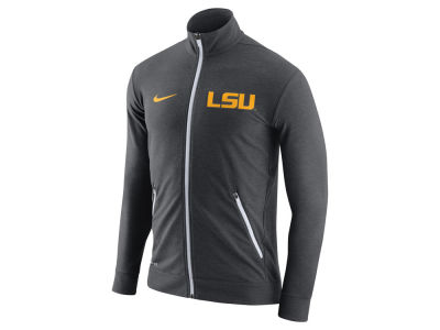 LSU Tigers Nike NCAA Men's Elite Players DriFit Touch Full Zip Jacket