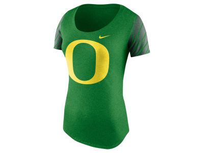 Oregon Ducks Nike NCAA Women's Tri First String Scoop T-Shirt