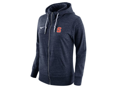 Syracuse Orange Nike NCAA Women's Tailgate Gym Vintage Full Zip Hoodie