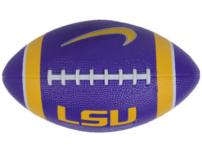 LSU Tigers Nike Mini Rubber Football