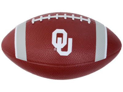 Oklahoma Sooners Nike Mini Rubber Football