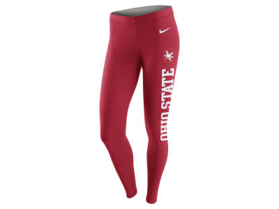 Ohio State Buckeyes Nike NCAA Women's Leg-A-See Tights