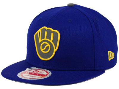 Milwaukee Brewers New Era MLB Reflect On 9FIFTY Snapback Cap