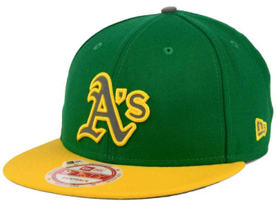 Oakland Athletics New Era MLB Reflect On 9FIFTY Snapback Cap