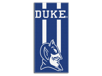 "Duke Blue Devils College 30x60 inch Beach Towel ""Zone Read"""