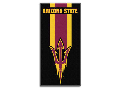 "Arizona State Sun Devils College 30x60 inch Beach Towel ""Zone Read"""